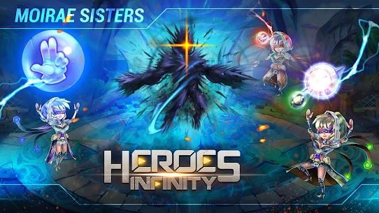 Baixar Heroes Infinity MOD APK 1.34.01 – {Versão atualizada} 3