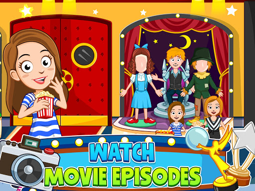 My Town : Cinema & Movie Star - Kids Movie Night 1.10 screenshots 17