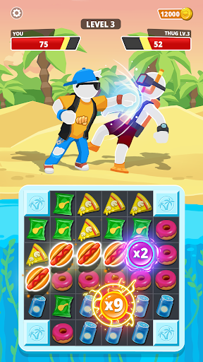 Match Hit - Puzzle Fighter  screenshots 6