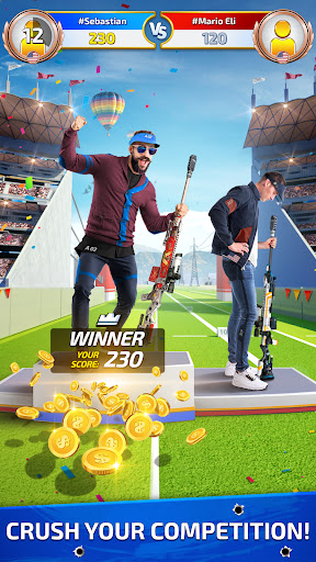 Sniper Champions: Competitive 3D Shooting Range  screenshots 1
