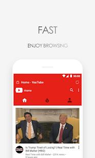 Via Browser - Fast & Light - Geek Best Choice