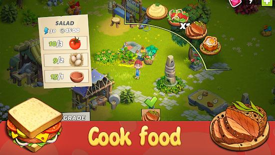 Family Age - Island farm game adventure Screenshot