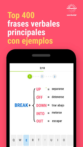 Inglu00e9s y Worldwide: aprende mu00e1s palabras screenshots 13