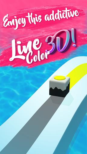 Line Color Game: 3D Adventure  screenshots 2