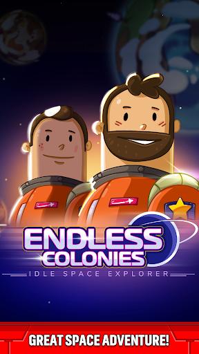 Endless Colonies: Idle Space Explorer  screenshots 1