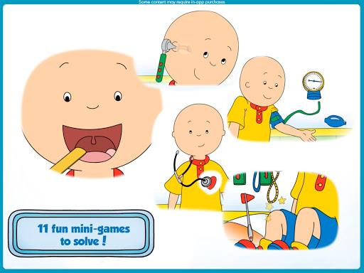 Caillou Check Up - Doctor 1.4 screenshots 7