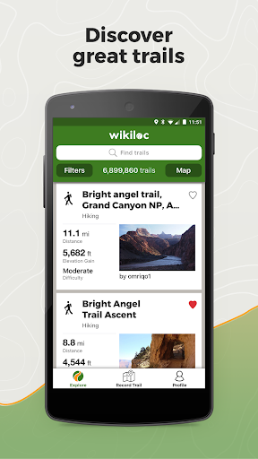 Wikiloc Outdoor Navigation GPS 3.14.23 Screenshots 1