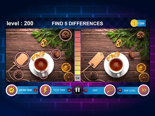 Spot 5 Differences 1000 levels 1.6.1 screenshots 12