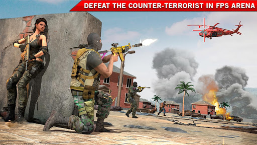 Modern FPS Shooting Strike: Counter Terrorist Game 2.9 screenshots 13