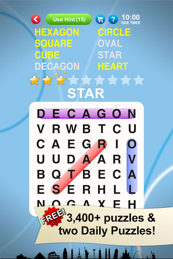 Word Search World Traveler 1.16.1 screenshots 1