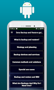 Data Backup & Restore guide free