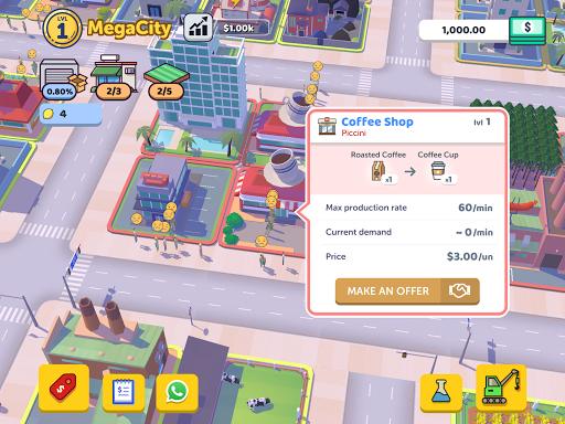 Corp City: Idle Corporation Strategy Games 1.7.0 screenshots 4
