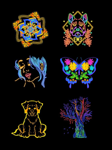 Doodle Master - Glow Art 1.0.26 Screenshots 17