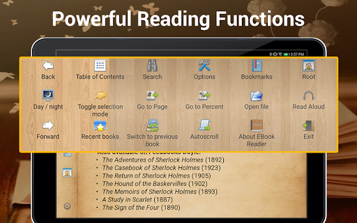 EBook Reader & Free ePub Books android2mod screenshots 10