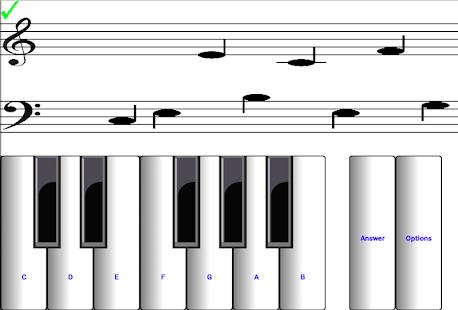 (light) learn sight read music notes piano tutor 7.0.3 Screenshots 12