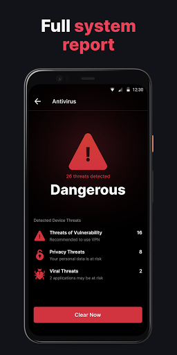 Clean Guard: Virus Cleaner Free, Antivirus, VPN android2mod screenshots 8