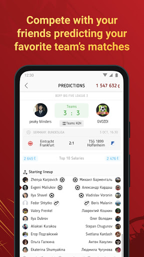 Battle of Predictions - Sports apk 1.6.0 screenshots 2