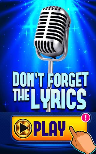Don't Forget the Lyrics 1.3.1 Screenshots 7