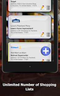 Shopping List with Aisle Locations - Speed Shopper