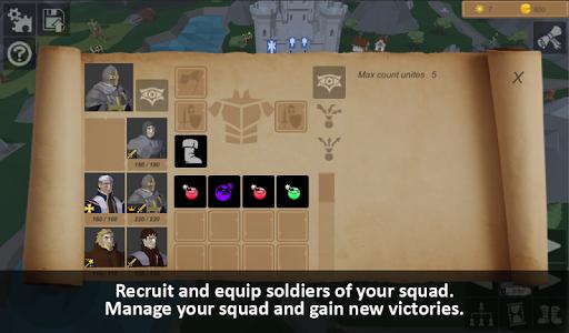 Warriors of medieval walls Tactical turn-based RPG apkdebit screenshots 3