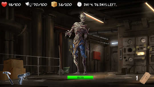Overlive LITE: A Zombie Survival Story and RPG 70.0 Android Mod + APK + Data 3