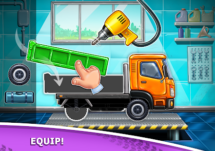 Image For Truck games for kids - build a house, car wash Versi 7.3.4 13