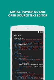 Turbo Editor // Text Editor