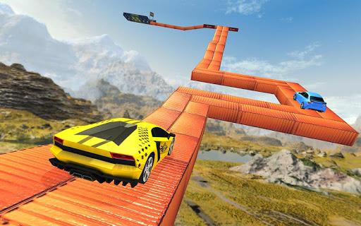 Impossible Car Stunt Game 2021 - Racing Car Games screenshots 13