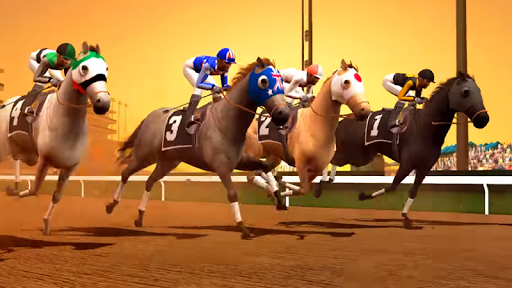 Jumping Horse Racing Simulator 3D  screenshots 3