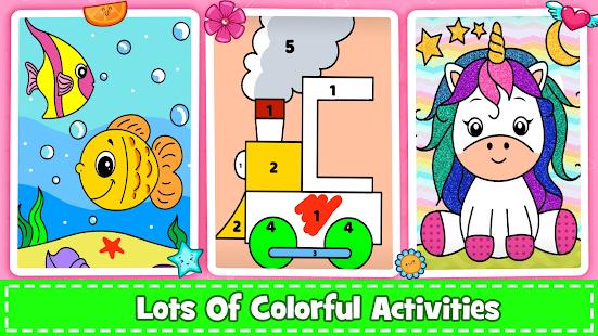 Coloring Games : PreSchool Coloring Book for kids screenshots 7