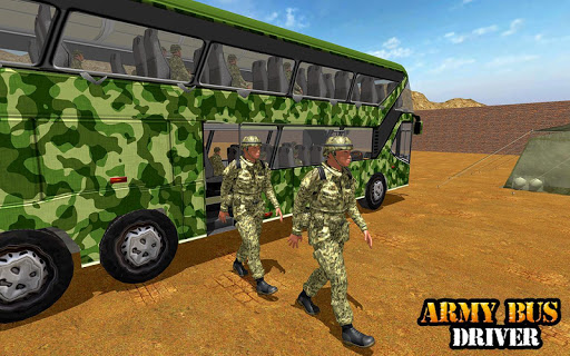 Army Bus Driving 2019 - Military Coach Transporter 1.0.9 screenshots 10