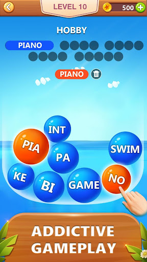 Word Bubble Puzzle - Word Search Connect Game 2.4 Screenshots 2