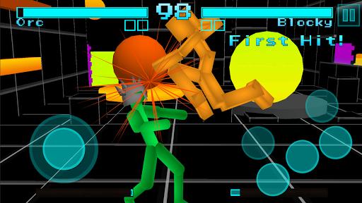 Stickman Fighting: Neon Warriors screenshots 9