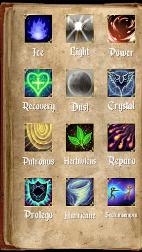 Magic wand for magic games. Sorcerer spells 4.10 screenshots 2