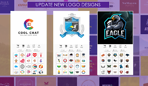 Logo Maker Free - Logo Maker 2020 & Logo Designer 4.6.0 Screenshots 3
