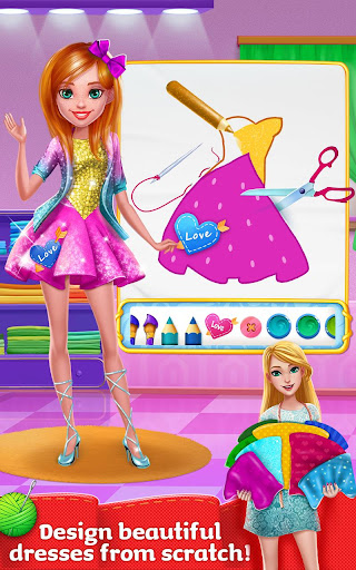 Design It Girl - Fashion Salon 1.0.9 screenshots 1