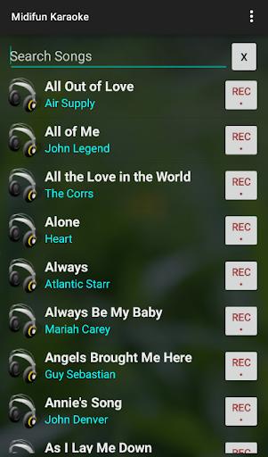 Midifun Karaoke 10.01 Screenshots 5