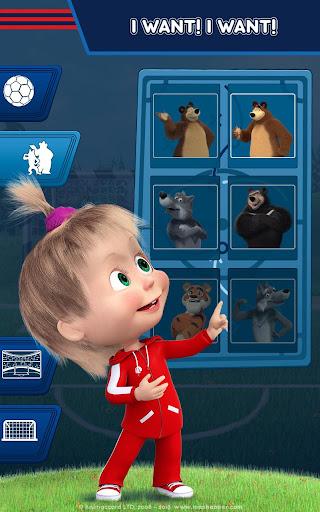 Masha and the Bear: Football Games for kids Apkfinish screenshots 15