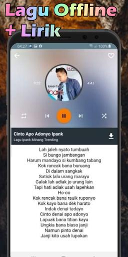 Lagu Ipank Minang Lengkap Offline Terbaru 2021 MP3  screenshots 2