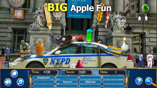 Hidden Objects New York City Puzzle Object Game  screenshots 12