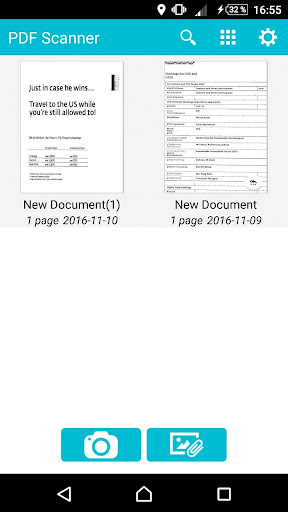 Convert JPG to PDF & Scanner 8.3.3 Screenshots 1