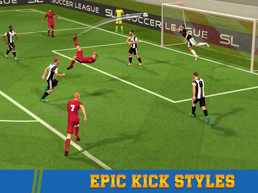 Soccer League Season 2021: Mayhem Football Games  screenshots 5