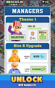 Box Office Tycoon Mod Apk (VIP Unlocked) 4
