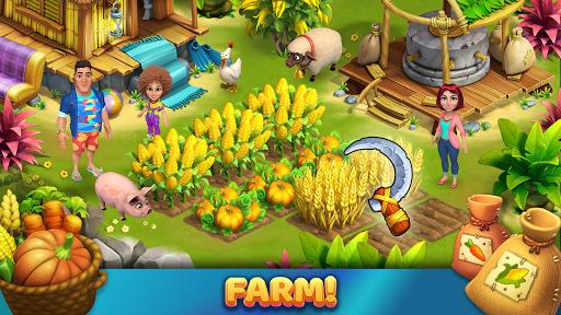 Bermuda Farm: City Building & Farming Island Games apkpoly screenshots 6