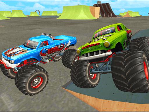 crazy monster speedy truck racing game 2 screenshots 1