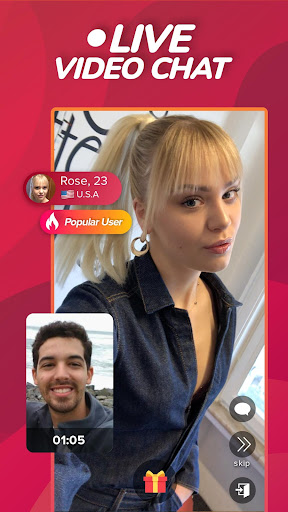 WHO - Live video chat & Match & Meet me screen 1
