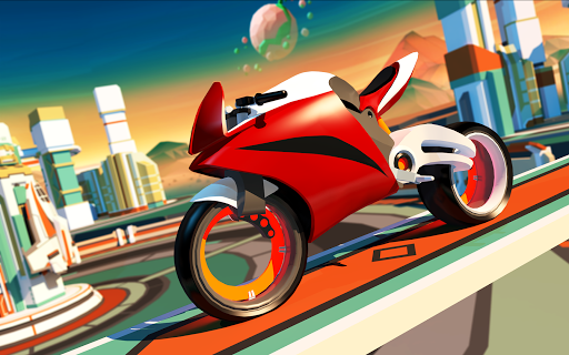 Gravity Rider: Extreme Balance Space Bike Racing 1.18.4 Screenshots 10