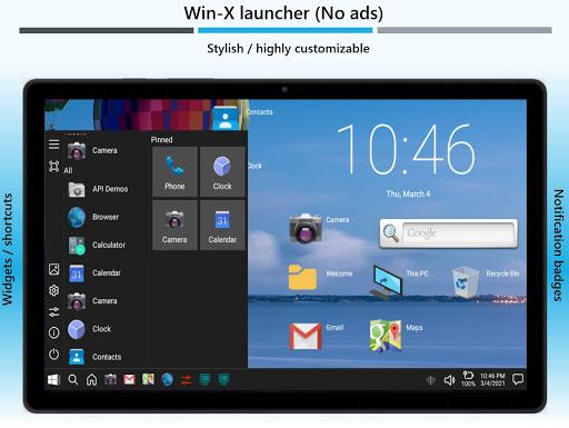 Win-X Launcher (No ads) Apkfinish screenshots 17