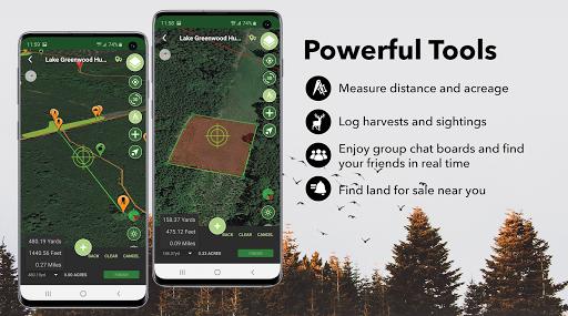 HuntStand: Hunting Maps, GPS Tools, Weather apktram screenshots 3