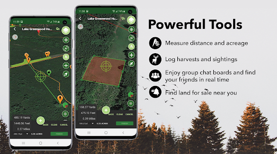 HuntStand: Hunting Maps, GPS Tools, Weather Screenshot